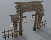 (ED1)Wooden archway-2