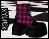 *Y* Pink Punk Boots