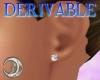 3D Diamond Earrings