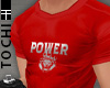 #T Power Jersey #Red