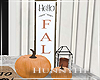 H. Fall Decor Sign