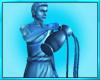 Aquarius Zodiac Statue