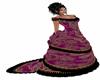 Vestido Victoriano lila