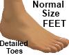 Pies Normal de Hombre