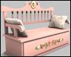 Pink Romance Bench