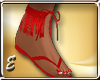 Kathy Red Sandals