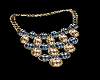 FG~ Gold & Azul Necklace