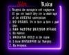 *SM* Ama's Rules 1
