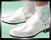 :)SuitShoe White Silver