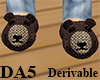 (A) Bear Slippers Male