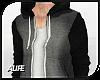 A| Black/Grey Hoodie
