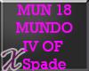 X* Mundo IV of Spades