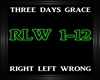 3 Days Grace-Right LeftW