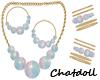 C)Pastel Beads  (Set)