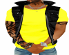black and yelow vest