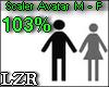Scaler Avatar M - F 103%