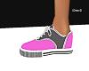 Pink and Grey Vans