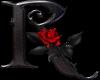 Rose Letter R