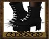 Black Spike Shoes
