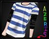 Ryou Blue Striped Shirt