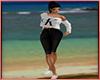 Summertime Capri Blk Sl