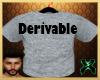 Derivable T shirt