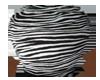 Large Pot Tiger Print