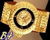 (B4) Versace Gold Watch