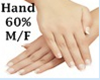 Scaler Hand 60% M/F