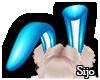 ♡Blue Bunny Ears♡