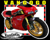 VG RED Sports BIKE moto