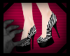 Q|J Zebra Heels (M)