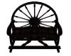wagonwheel bench
