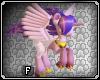 Magic Flying Unicorn Winged Pony Princess Purple Lilac Long Mane