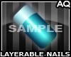 *AQ*Nailz | Teal