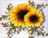 Sunflower Corsage Left