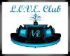 Love Club Sofa W Plant B