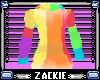 rainbow animated hoodie