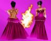 (DD) Diamond gown pink