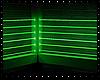 Toxic Green Neon Room