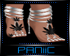 ☠ Feet Straps - Weed