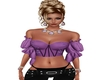 Purple Butterfly corset