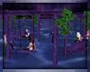 Purple Garden Swings