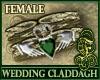 Wedding Claddagh Emerald