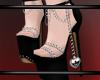 {B} Black Heels