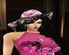 aya black with sunhat
