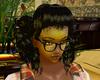 80' black hair