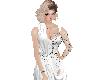 (R)white diamond dress
