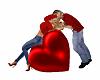 Valentines Kiss Heart
