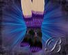 [B]violet lace stilettos